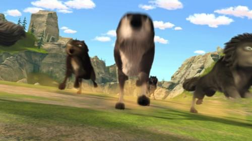 Imagem 2 do filme A Lady e o Lobo 3: Os Grandes Jogos de Lobo