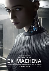 Poster do filme Ex Machina - Instinto Artificial
