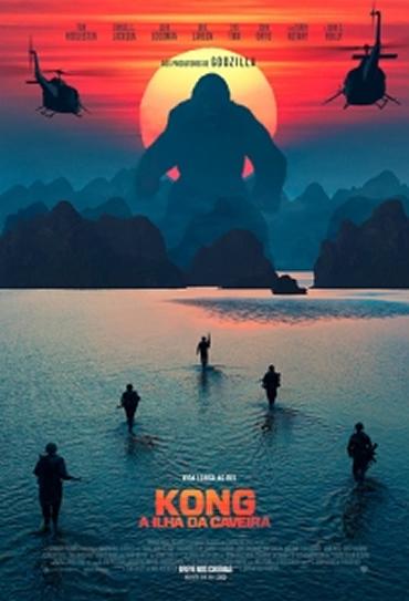 Kong: A Ilha da Caveira Dublado HD