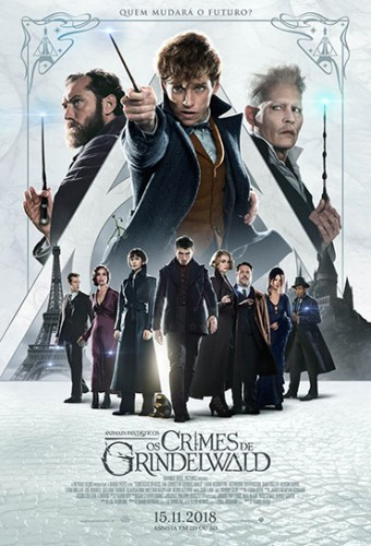 Poster do filme Animais Fantásticos: Os Crimes de Grindelwald