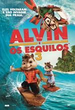 Poster do filme Alvin e os Esquilos 3