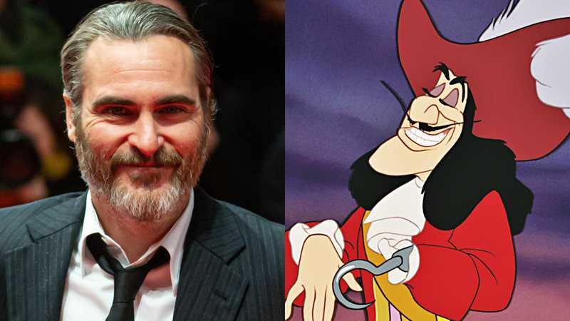 Peter Pan e Wendy: Joaquin Phoenix pode ser Capitão Ganho no live-action