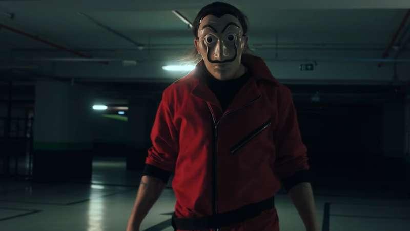 Whindersson Nunes grava vídeo divertido com elenco de La Casa de Papel