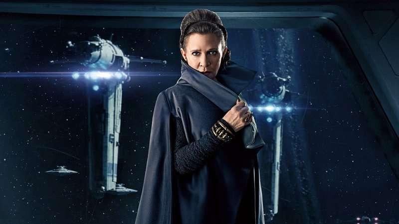 Sabre de Luz de Leia ganha detalhes em nova foto de Star Wars