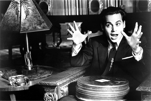 Cena do filme Ed Wood