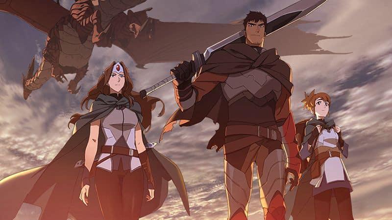 Anime 'DOTA: Dragon's Blood' ganha novo trailer na Netflix
