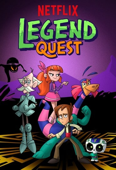 Poster do filme Legend Quest