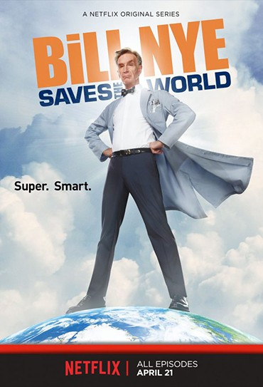 Poster do filme Bill Nye Saves the World