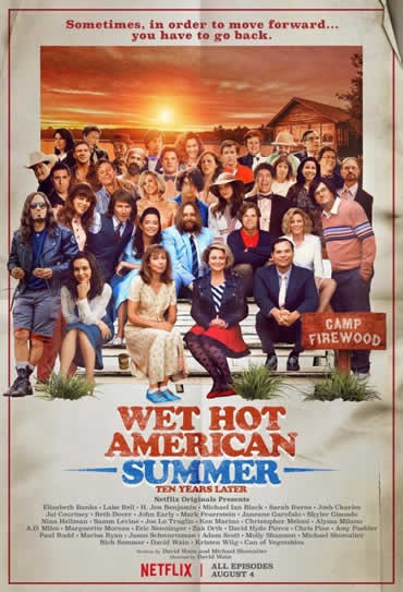 Poster do filme Wet Hot American Summer: 10 Years Later