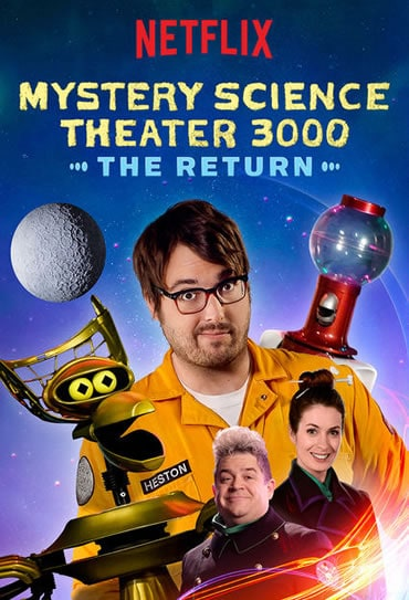 Poster do filme Mystery Science Theater 3000: The Return