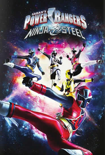 Poster do filme Power Rangers Ninja Steel