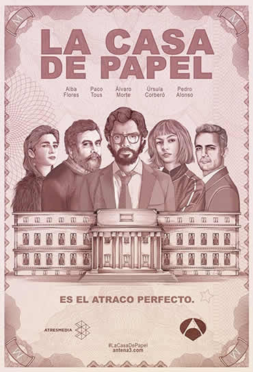 Poster do filme La Casa de Papel