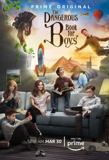 Poster do filme The Dangerous Book for Boys