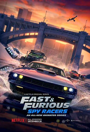 Poster do filme Fast & Furious: Spy Racers