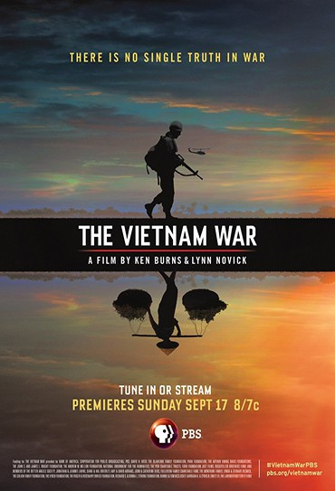 Poster do filme The Vietnam War