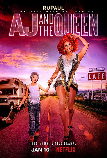 Poster do filme AJ and the Queen