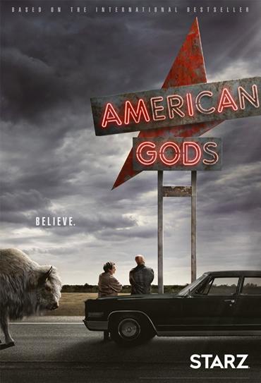 Poster do filme American Gods