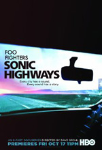 Poster do filme Foo Fighters Sonic Highways