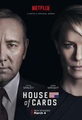 Poster da série House of Cards