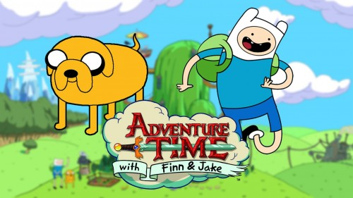 Adventure Time com Finn e Jake