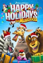 Poster do filme DreamWorks Happy Holidays from Madagascar