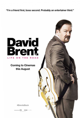 Poster do filme David Brent: Life on the Road