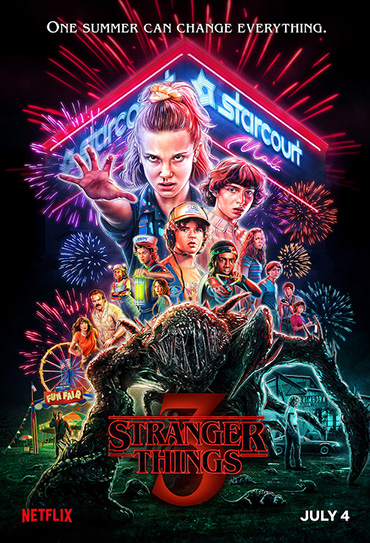 Poster do filme Stranger Things